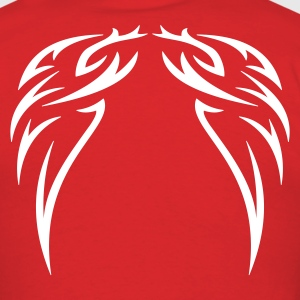 Red tattoo wings T-Shirts - Men's T-Shirt