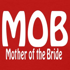 Red Mother of the Bride Women's T-Shirts