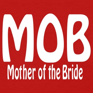 Red Mother of the Bride Women's T-Shirts - Women's T-Shirt