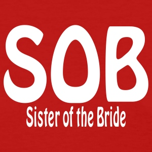 Red Sister of the Bride Women's T-Shirts - Women's T-Shirt