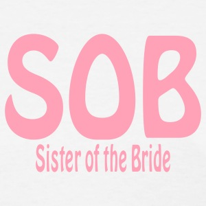 White Sister of the Bride Women's T-Shirts - Women's T-Shirt