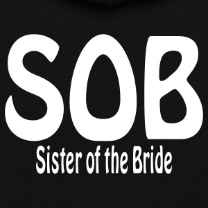 Black Sister of the Bride Hoodies - Women's Hoodie