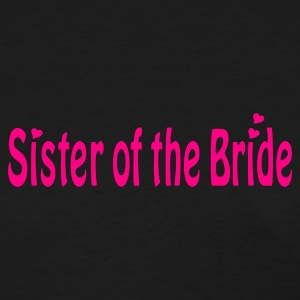 Black Sister of the Bride Women's T-Shirts - Women's T-Shirt