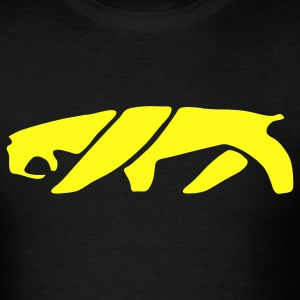 Saber Tooth Tiger (Smilodon) 1c - Men's T-Shirt