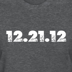 Deep heather 12.21.12 2012 The End of the World? Women's T-Shirts