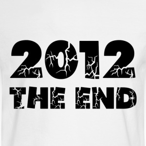 White 2012 The End Long Sleeve Shirts - Men's Long Sleeve T-Shirt