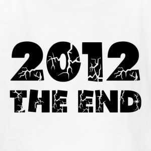 White 2012 The End Kids' Shirts - Kids' T-Shirt
