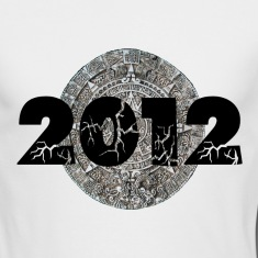 White 2012 Mayan Calendar Long Sleeve Shirts