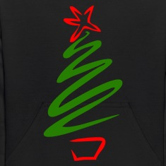 Black Christmas tree Sweatshirts