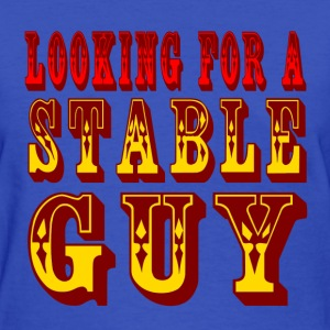 Light blue Looking For A Stable Guy Women's T-Shirts - Women's T-Shirt