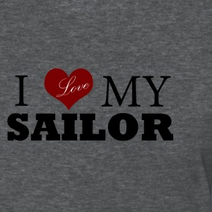 Deep heather Love my sailor Women's T-Shirts - Women's T-Shirt