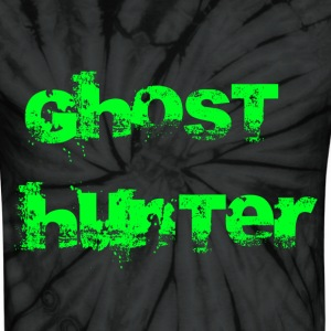 Spider black Ghost Hunter T-Shirts - Unisex Tie Dye T-Shirt