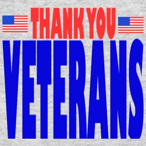 Gray THANK YOU VETERANS Long Sleeve Shirts - Women's Long Sleeve Jersey T-Shirt