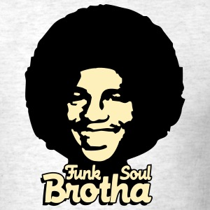 Light oxford funk_soul_brotha_2c T-Shirts - Men's T-Shirt
