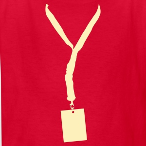 Red Lanyard Kids' Shirts - Kids' T-Shirt