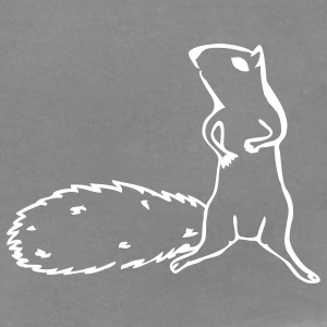 Slate squirrel T-Shirts - Men's T-Shirt by American Apparel