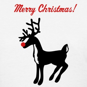 White rudolph the red nose reindeer Women's T-Shirts - Women's T-Shirt