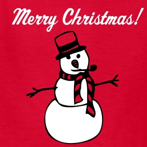 Red snowman Kids' Shirts - Kids' T-Shirt