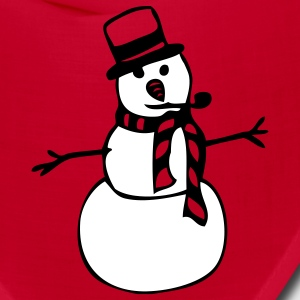 Red snowman Other - Bandana