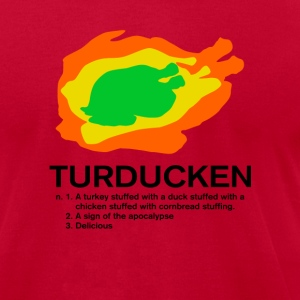 Light blue The Turducken Definition T-Shirts - Men's T-Shirt by American Apparel