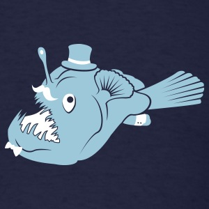 Sir Angler Fish - Men's T-Shirt
