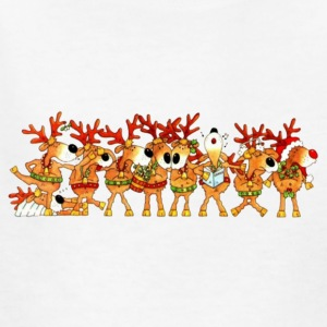 Reindeer Chorus Childrens T - Kids' T-Shirt