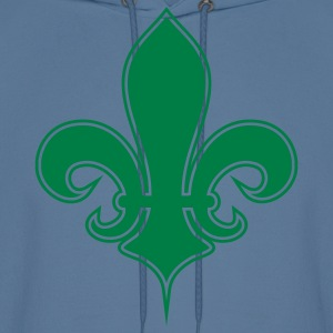 Green cool fleur de vintage designer Hoodies - Men's Hoodie