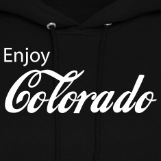 Black colorado Hoodies