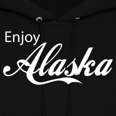 Black alaska Hoodies