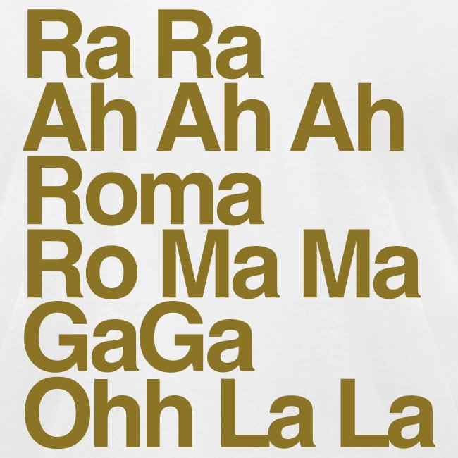 Gaga Special Edition Crew