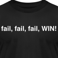 Design ~ fail, fail, fail, WIN!