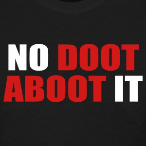 Black No Doot Aboot It Women's T-Shirts - Women's T-Shirt
