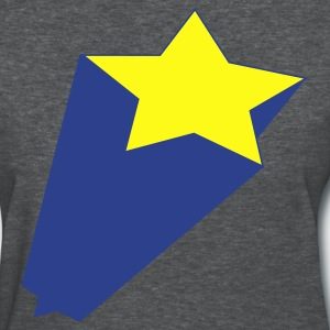Deep heather star jumping out Women's T-Shirts - Women's T-Shirt
