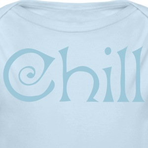 Powder blue chill for winter Baby Body - Long Sleeve Baby Bodysuit