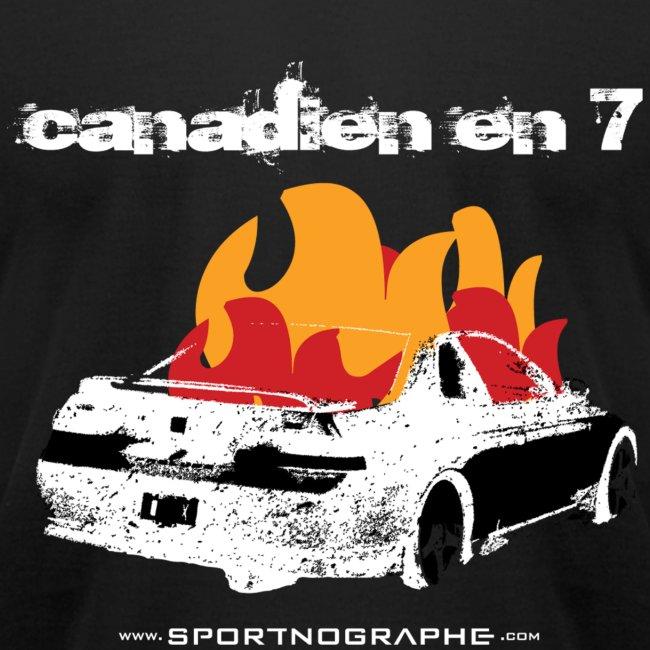 Canadien 7 - noir