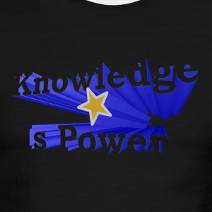 Knowledge is Power - Men's Ringer T-Shirt
