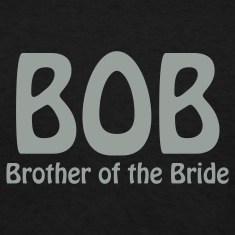 Black Brother of the Bride T-Shirts