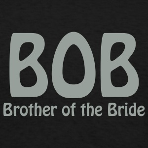Black Brother of the Bride T-Shirts - Men's T-Shirt