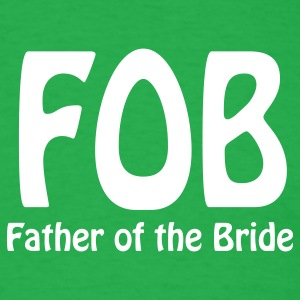 Bright green Father of the Bride T-Shirts - Men's T-Shirt