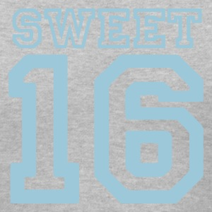 Gray sweet 16 Women's T-Shirts - Women's V-Neck T-Shirt