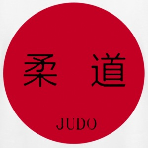 White Japan Judo T-Shirts - Men's T-Shirt by American Apparel