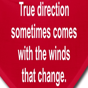 True Direction..... - Bandana
