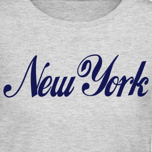 Gray new york Long Sleeve Shirts - Women's Long Sleeve Jersey T-Shirt