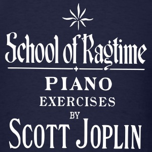 Joplin's School of Ragtime T-Shirts - Men's T-Shirt