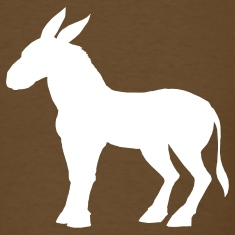 Brown mule T-Shirts