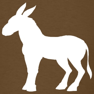 Brown mule T-Shirts - Men's T-Shirt