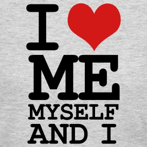 Gray i love me myself and i Long Sleeve Shirts - Women's Long Sleeve Jersey T-Shirt