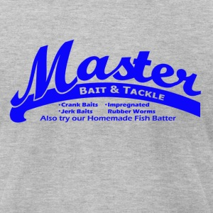 Master Bait - Men's T-Shirt by American Apparel