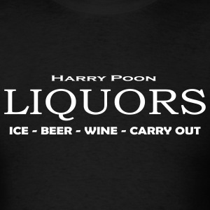 Black Poon Liquors T-Shirts - Men's T-Shirt