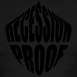 Recession Proof - Men's Ringer T-Shirt